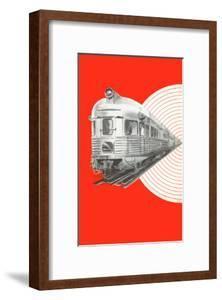 Caboose of Modern Train