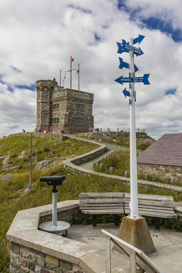 Cabot Tower, Signal Hill National Historic Site, St. John'S, Newfoundland, Canada, North America-Michael Nolan-Photographic Print