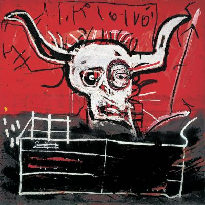 Cabra-Jean-Michel Basquiat-Giclee Print