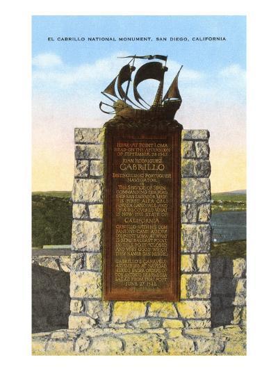 Cabrillo National Monument, San Diego, California--Art Print