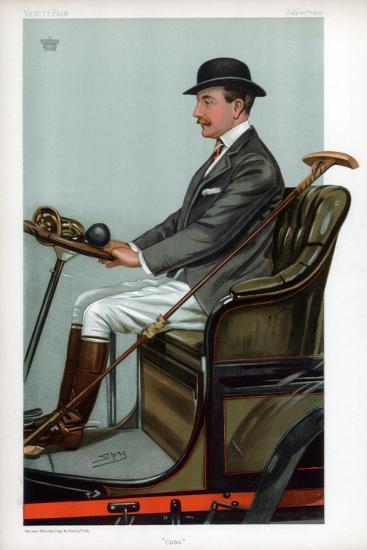 Cabs, 1903-Spy-Giclee Print