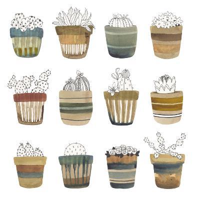 Cactus Collective-Sandra Jacobs-Giclee Print