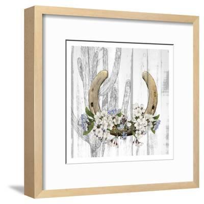 Cactus Cowboy 2-Kimberly Allen-Framed Art Print