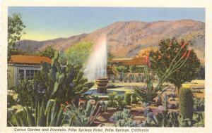 Cactus Garden, Palm Springs, California