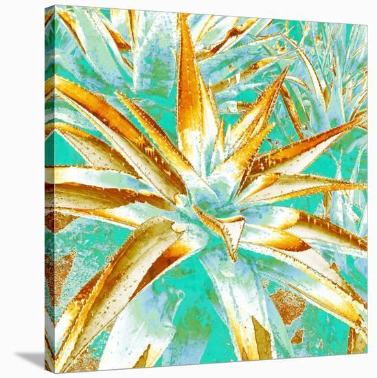 Cactus II--Stretched Canvas Print
