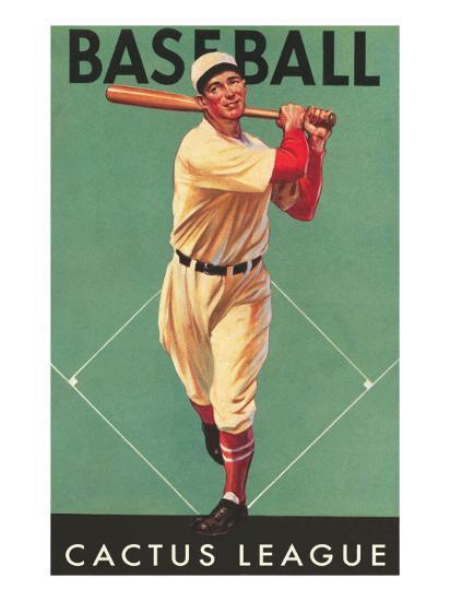 Cactus League Baseball, Arizona--Art Print