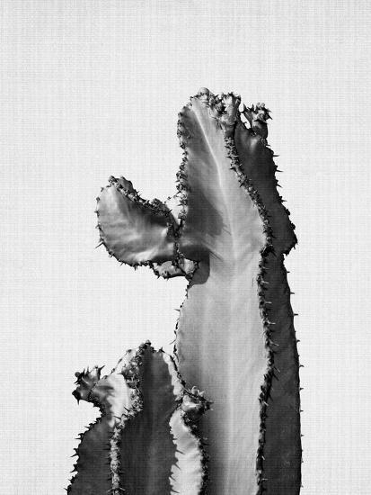 Cactus On Grey 2-LILA X LOLA-Art Print