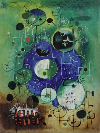 Cactus Wall, C.1955-60-Anneliese Everts-Giclee Print