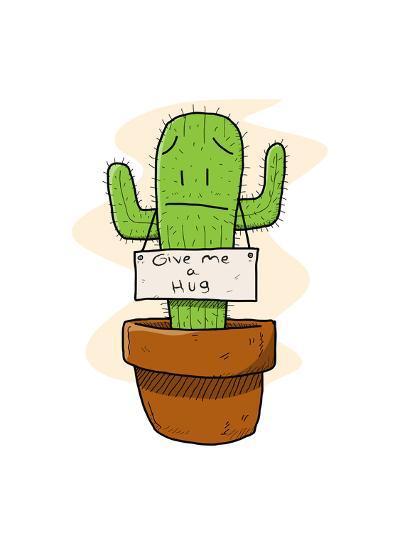 Cactus-lemonadeserenade-Art Print