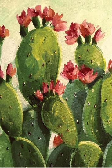 Cactus-Boho Hue Studio-Art Print