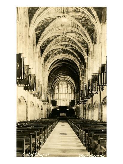 Cadet Chapel, West Point, New York--Art Print