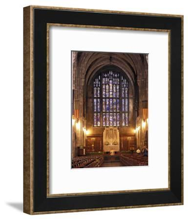 Cadet Chapel with Stained Glass Windows at the West Point Military Academy in New York-Richard Nowitz-Framed Photographic Print