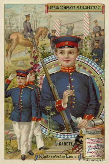 Cadet--Giclee Print