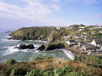 Cadgwith Harbour and Village, Cornwall, England, United Kingdom-Adam Woolfitt-Photographic Print