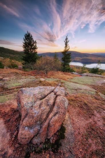 Cadillac Mountain Beauty-Vincent James-Photographic Print