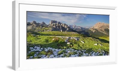 Cadini Di Misurina, Veneto, the Dolomites Mountains, Italy-Rainer Mirau-Framed Photographic Print