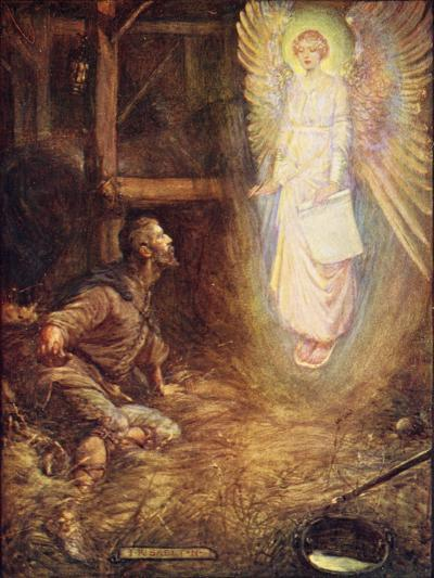 Caedmon, Sing Some Song to Me-Joseph Ratcliffe Skelton-Giclee Print