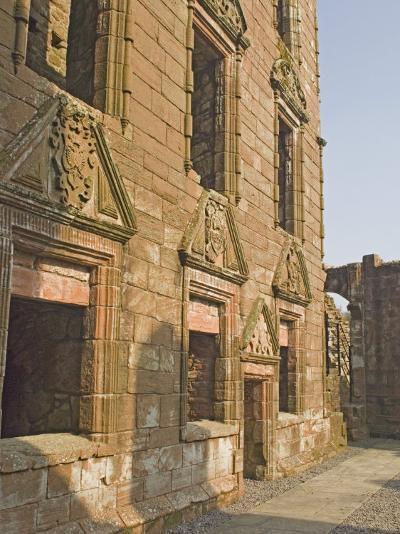 Caerlaverock Medieval Castle, Dumfries and Galloway, Scotland, UK-James Emmerson-Photographic Print