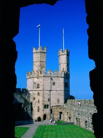 Caernarfon Castle, Gwynedd, Wales-Grant Dixon-Photographic Print