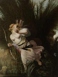 Pan and Syrinx by Caesar Boetius van Everdingen