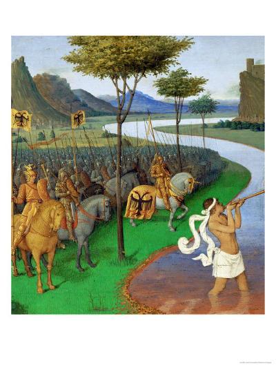 Caesar Crossing the Rubicon-Jean Fouquet-Giclee Print