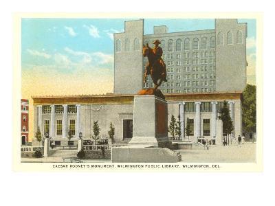 Caesar Rodney Monument, Wilmington--Art Print