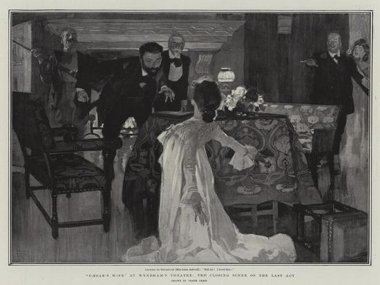 Caesar's Wife at Wyndham's Theatre, the Closing Scene of the Last Act-Frank Craig-Giclee Print