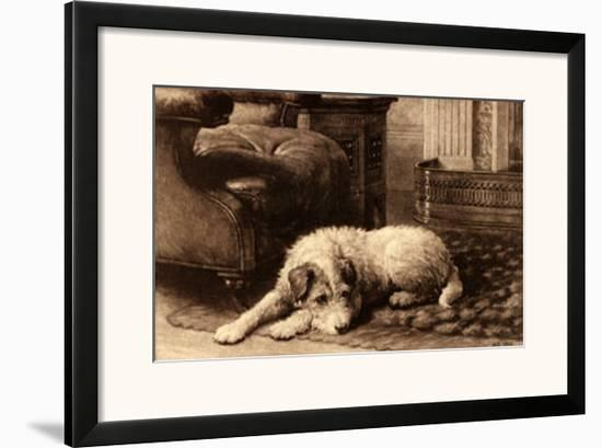 Caesar-Herbert Dicksee-Framed Art Print