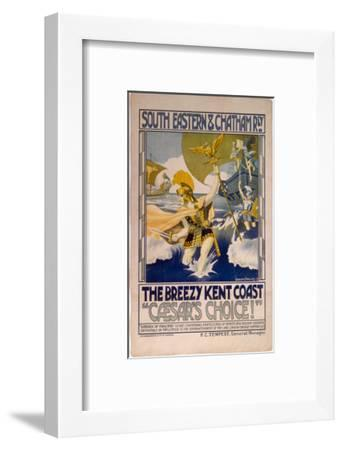 Caesars Choice, SECR, c.1913-Graham Phillips-Framed Art Print