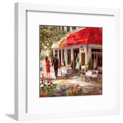 Café Afternoon II-Nan-Framed Art Print