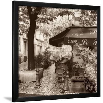 Cafe, Aix-en-Provence-Alan Blaustein-Framed Art Print