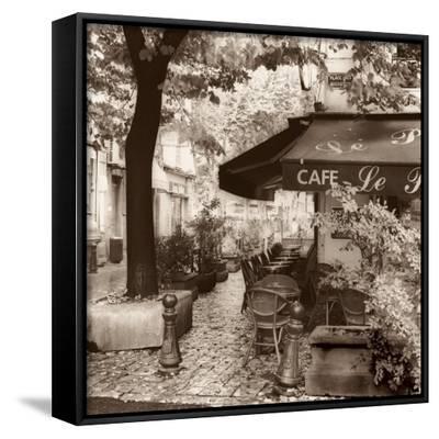 Cafe, Aix-en-Provence-Alan Blaustein-Framed Canvas Print