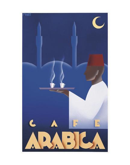 Cafe Arabica-Steve Forney-Art Print