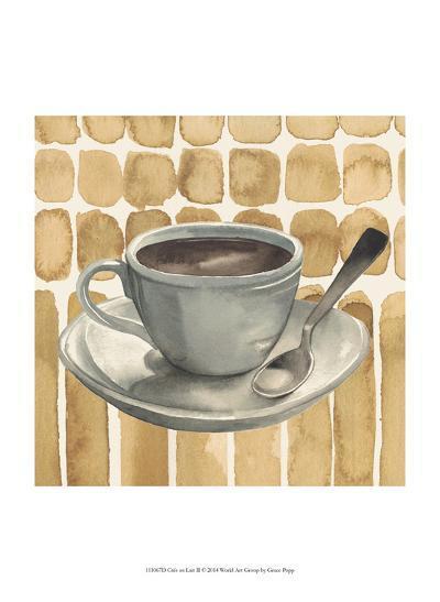 Cafe au Lait II-Grace Popp-Art Print