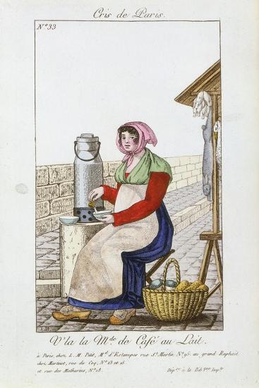 Café-Au-Lait Seller, 1826--Giclee Print