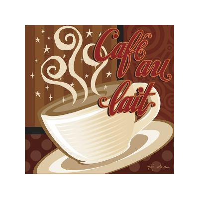 Cafe au Lait-P.j. Dean-Giclee Print