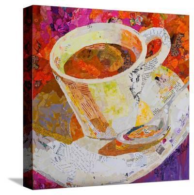 Cafe Au Lait--Stretched Canvas Print