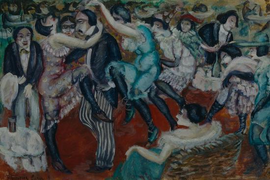 Café Chantant, 1913-Boris Dmitryevich Grigoriev-Giclee Print