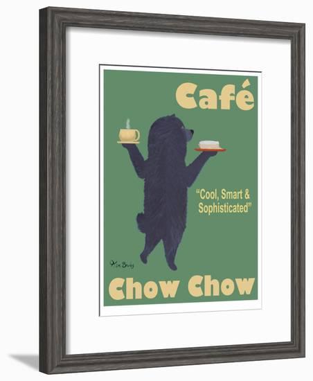Café Chow Chow-Ken Bailey-Framed Limited Edition