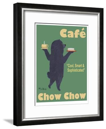 Café Chow Chow-Ken Bailey-Framed Limited Edition