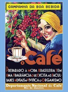 Café (Coffee) - Rio De Janeiro, Brazil