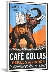 Cafe Collas Perles Des Indes Poster
