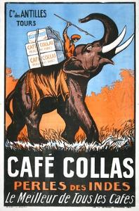 Cafe Collas Perles Des Indes Poster