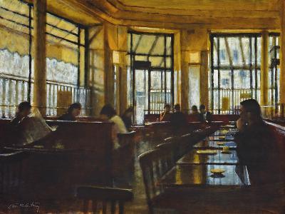 Cafe de Flore, Paris-Clive McCartney-Giclee Print