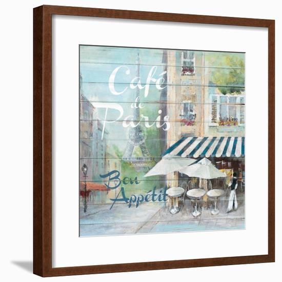 Café De Paris Bon Appétit-Jurgen Gottschlag-Framed Premium Giclee Print