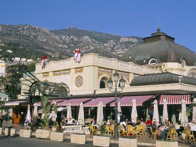 Cafe De Paris, Monte Carlo, Monaco, Cote D'Azur, Mediterranean, Europe-Sergio Pitamitz-Photographic Print