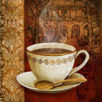 Cafe du Boulevard I-Conrad Knutsen-Art Print