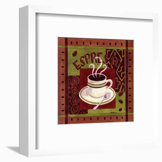 Cafe Exotica I-Jennifer Brinley-Framed Art Print