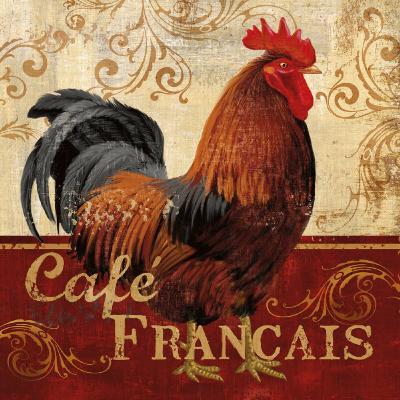 Cafe Francais-Conrad Knutsen-Art Print
