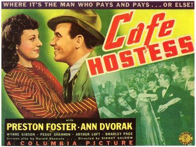 Cafe Hostess, 1940--Art Print